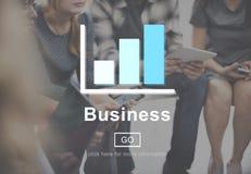 Concept de stratégie d'organisation d'entreprise d'affaires Photos libres de droits