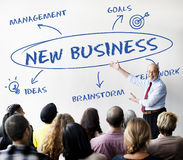 Concept de stratégie de croissance d'affaires Photographie stock