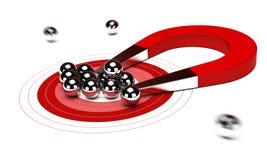 Concept de stratégie marketing Images stock