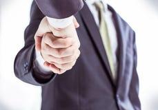 Concept de succès dans les affaires : une poignée de main des associés Photo stock
