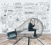 Concept de succès et de finances Photo libre de droits