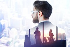 Concept de succès et de travail d'équipe image stock