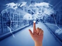 Concept de supply chain management images libres de droits