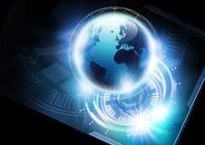 Concept de télécommunication mondiale Photos libres de droits