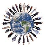 Concept de télécommunication mondiale Image libre de droits