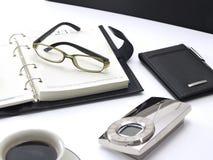 Concept de table pour les affaires et le bureau photographie stock