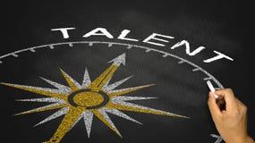 concept de talent Photographie stock libre de droits