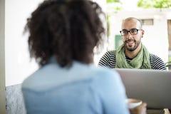 Concept de Team Corporate Planning Communication Internet photographie stock