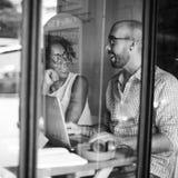 Concept de Team Corporate Planning Communication Internet images libres de droits