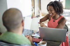 Concept de Team Corporate Planning Communication Internet image libre de droits