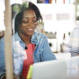 Concept de Team Corporate Planning Communication Internet Photos libres de droits