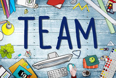 Concept de Team Corporate Teamwork Collaboration Assistance photo libre de droits