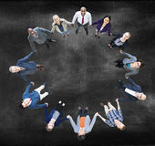 Concept de Team Corporate Togetherness Unity Connection image stock