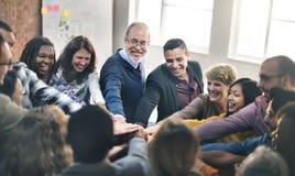 Concept de Team Teamwork Join Hands Partnership photo stock
