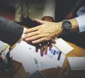 Concept de Team Teamwork Togetherness Collaboration Corporate photographie stock libre de droits