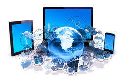 Concept de technologie Photos libres de droits