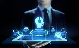 Concept de technologie d'affaires de garantie de la qualité de service à la clientèle de soutien images libres de droits
