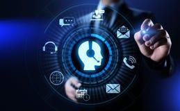 Concept de technologie d'affaires de garantie de la qualit? de service ? la client?le de soutien illustration libre de droits