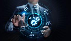 Concept de technologie d'API Application Programming Interface Development illustration libre de droits