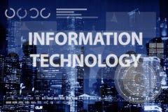 Concept de technologie de connexion de Digital de réseau informatique Photo libre de droits