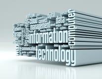 concept de technologie de l'information Photographie stock