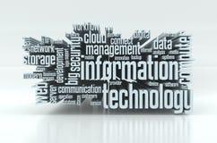 concept de technologie de l'information Image stock