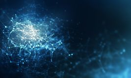Concept de technologie du sans fil Image libre de droits