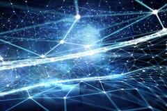Concept de technologie du sans fil Photo stock