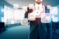 Concept de technologie et d'analytics Image libre de droits
