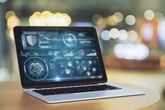 Concept de technologie et de succès Image stock