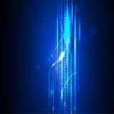 Concept de technologie numérique de vecteur, fond abstrait Photo libre de droits