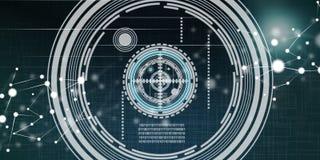 Concept de technologie virtuelle Image libre de droits