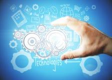 Concept de technologies Photos libres de droits