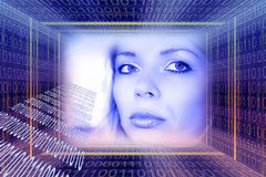 Concept de technologies de Digitals photo stock
