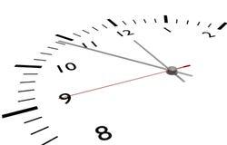 Concept de temps Images stock