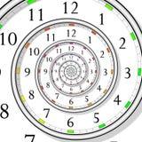 Concept de temps Photographie stock