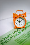 Concept de temps d'affaires Photo stock