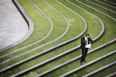 Concept de temps d'Appointment Punctuality Watch d'homme d'affaires Image libre de droits