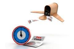 Concept de temps d'impôts Image stock