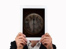 Concept de temps dans les affaires Image stock