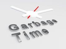 Concept de temps de déchets illustration de vecteur