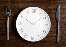 Concept de temps de déjeuner Photographie stock