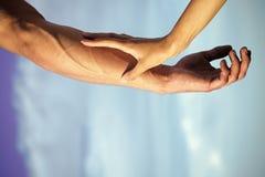 Concept de tendresse, d'amour et de soin Image stock