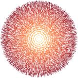 Concept de théorie du Big Bang Photographie stock libre de droits