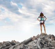 Concept de tourisme Photographie stock libre de droits