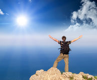 Concept de touristes Photographie stock libre de droits