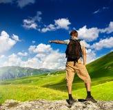 Concept de touristes Photo stock