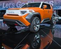 Concept de Toyota FT-4X, NAIAS Photos libres de droits