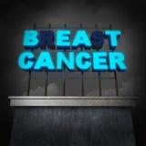 Concept de traitement de cancer du sein illustration libre de droits