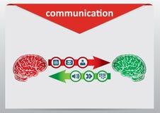 Concept de transmission illustration stock
